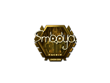 Skin Sticker | smooya (Gold) | London 2018