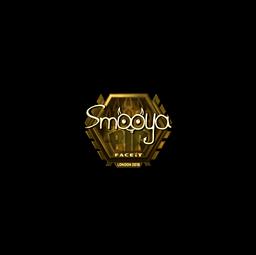 Sticker | smooya (Gold) | London 2018
