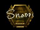 Sticker | Snappi (Gold) | London 2018