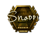 Skin Sticker | Snappi (Gold) | London 2018