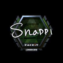 Snappi (Foil) | London 2018