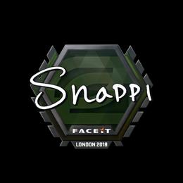 Snappi | London 2018