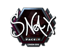 Sticker | Snax (Foil) | London 2018