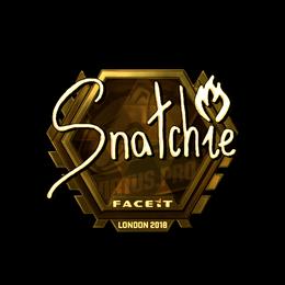 snatchie (Gold) | London 2018