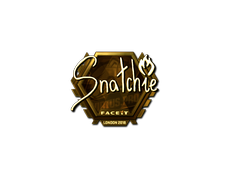 Skin Sticker | snatchie (Gold) | London 2018