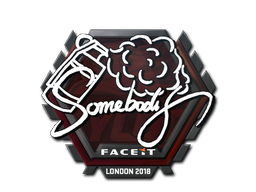 Sticker | somebody | London 2018