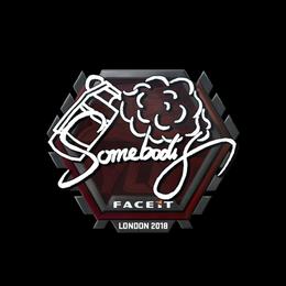 somebody | London 2018