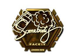 somebody | London 2018