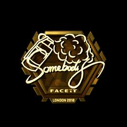 somebody (Gold) | London 2018