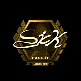 SicK (Gold) | London 2018