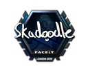 Sticker | Skadoodle (Foil) | London 2018