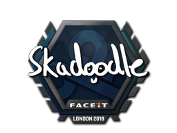 Sticker | Skadoodle | London 2018