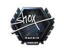 Sticker | shox (Foil) | London 2018