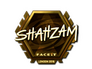 Skin Sticker | ShahZaM (Gold) | London 2018