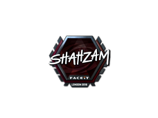 Skin Sticker | ShahZaM (Foil) | London 2018