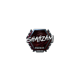 Sticker | ShahZaM (Foil) | London 2018