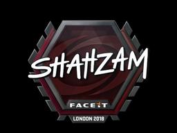Sticker | ShahZaM | London 2018
