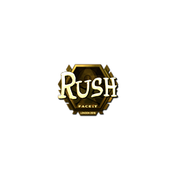 Sticker | RUSH (Gold) | London 2018
