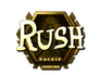 Skin Sticker | RUSH (Gold) | London 2018