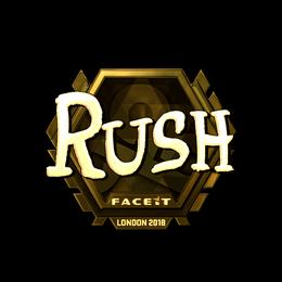 RUSH (Gold) | London 2018