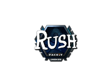Skin Sticker | RUSH (Foil) | London 2018