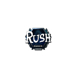 Sticker | RUSH (Foil) | London 2018