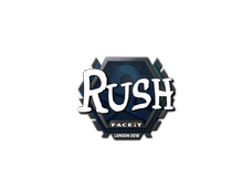 Skin Sticker | RUSH | London 2018