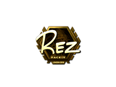 Skin Sticker | REZ (Gold) | London 2018