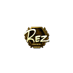 Sticker | REZ (Gold) | London 2018