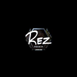 Sticker   REZ (Foil)   London 2018