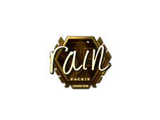 Skin Sticker | rain (Gold) | London 2018