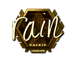rain | London 2018