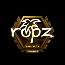 ropz (Gold) | London 2018