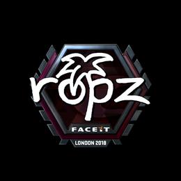 ropz (Foil) | London 2018