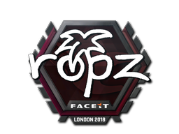 Sticker | ropz | London 2018