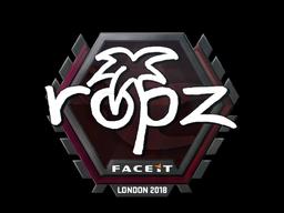 ropz | London 2018