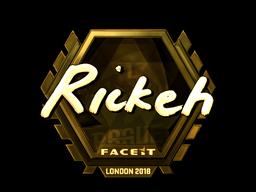 Rickeh | London 2018