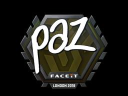 paz | London 2018