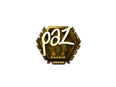 Skin Sticker | paz (Gold) | London 2018