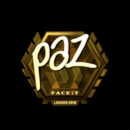 paz (Gold) | London 2018