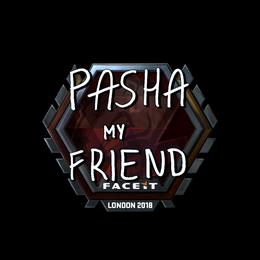 pashaBiceps (Foil) | London 2018