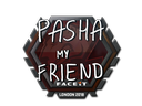 Sticker | pashaBiceps | London 2018