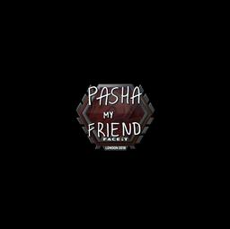Sticker   pashaBiceps   London 2018