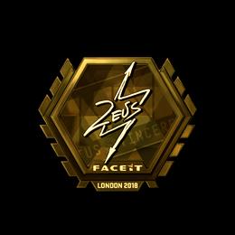 Zeus (Gold) | London 2018