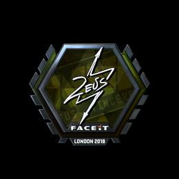Zeus (Foil)   London 2018