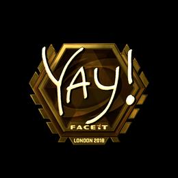 yay (Gold) | London 2018