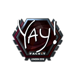 yay (Foil) | London 2018