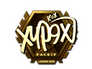 Skin Sticker | Xyp9x (Gold) | London 2018