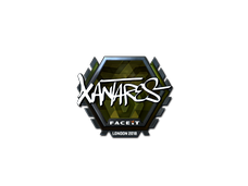 Skin Sticker | XANTARES (Foil) | London 2018