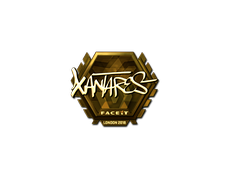 Skin Sticker | XANTARES (Gold) | London 2018